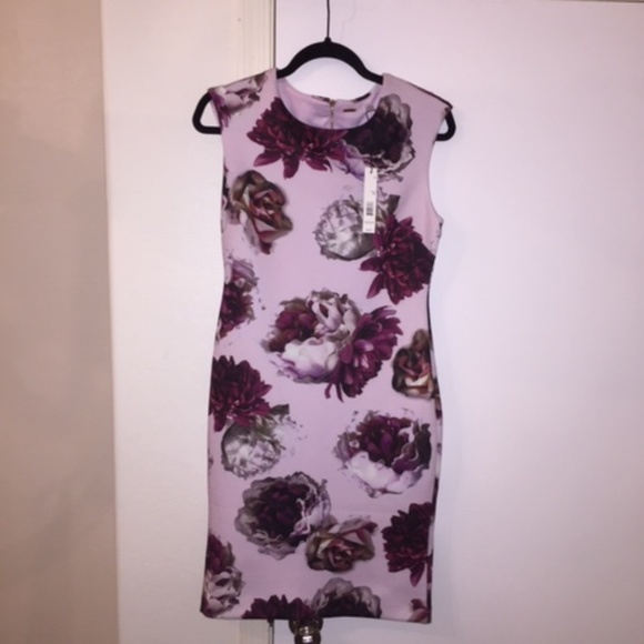 Tahari Dresses & Skirts - Cap sleeved, fully lined, elegant floral dress